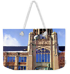 Abstract - Haas Center Weekender Tote Bag