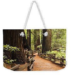 Muir Woods Trail Weekender Tote Bag
