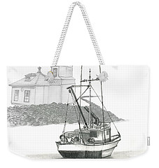 Mukilteo Lighthouse Weekender Tote Bag by Terry Frederick
