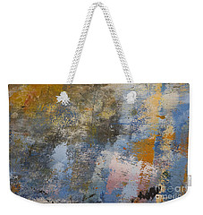 Weekender Tote Bag featuring the photograph Mulberry On Concrete by Nola Lee Kelsey