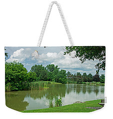Muller Chapel Pond Ithaca College Weekender Tote Bag by Photographic Arts And Design Studio