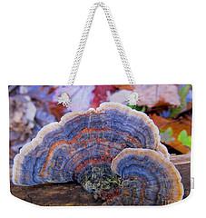 Multicolor Mushroom Weekender Tote Bag