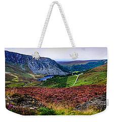 Multicolored Carpet Of Wicklow Hills. Ireland Weekender Tote Bag