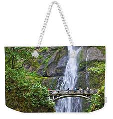 Multnomah Falls 4 Weekender Tote Bag