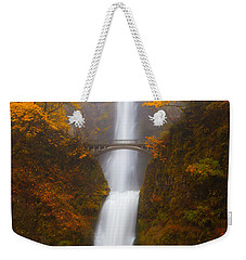 Multnomah Morning Weekender Tote Bag