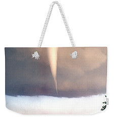 Mulvane Tornado With Storm Chasers Weekender Tote Bag by Jason Politte