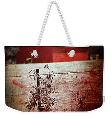 Murder In The Red Barn Weekender Tote Bag