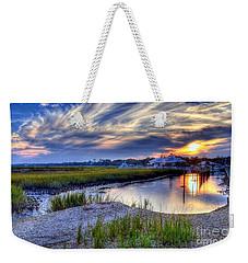 Murrells Inlet Sunset 4 Weekender Tote Bag