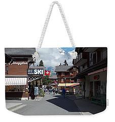 Murren Switzerland Weekender Tote Bag