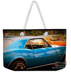 Muscle Weekender Tote Bag by Bobbee Rickard