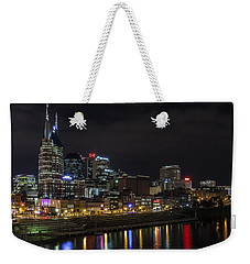 Music And Lights Weekender Tote Bag
