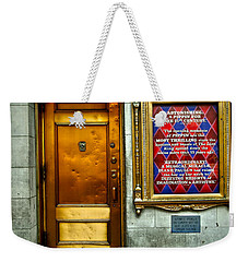 Music Box Stage Entrance Weekender Tote Bag