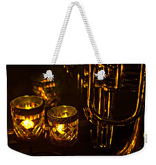 Trumpet And Candlelight Weekender Tote Bag