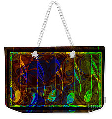 Music Is Magical Abstract Healing Art Weekender Tote Bag