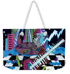 Music On The River Stl Style Weekender Tote Bag by Genevieve Esson