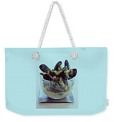 Mussels In Broth Weekender Tote Bag