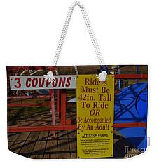 Must Be This Tall Weekender Tote Bag