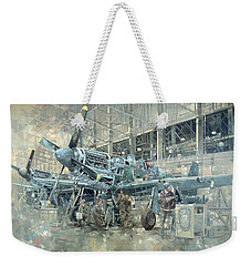Mustang At Warton Weekender Tote Bag