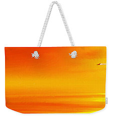 Mute Sunset Weekender Tote Bag