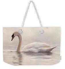 Mute Swan Painting Weekender Tote Bag