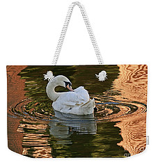 Weekender Tote Bag featuring the photograph Preening by Kate Brown