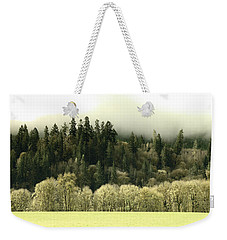 Weekender Tote Bag featuring the photograph Muted Hillside Colors by Katie Wing Vigil