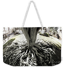 Weekender Tote Bag featuring the photograph Muted Roots by Clayton Bruster