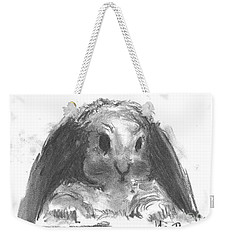 My Baby Bunny Weekender Tote Bag by Laurie L