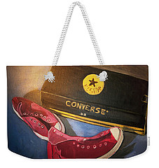 My Chucks - Pink Converse Chuck Taylor All Star - Still Life Painting - Ai P. Nilson Weekender Tote Bag