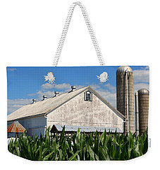 My Favorite Barn In Summer Weekender Tote Bag