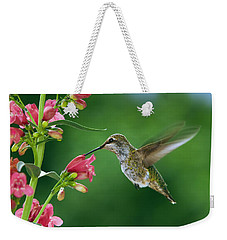 My Favorite Flowers Weekender Tote Bag by William Lee
