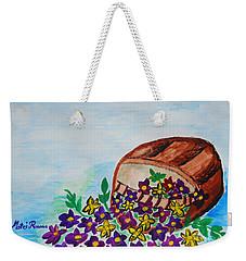 My Flower Basket Weekender Tote Bag