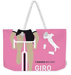 My Giro D Italia Minimal Poster 2014 Weekender Tote Bag