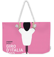 My Giro D'italia Minimal Poster Weekender Tote Bag