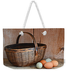 My Grandma's Egg Basket Weekender Tote Bag