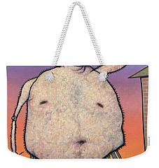My Head Is A Raisin. Weekender Tote Bag