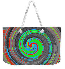 Weekender Tote Bag featuring the digital art My Hurricane by Catherine Lott