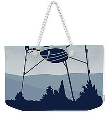 My I Want To Believe Minimal Poster-war-of-the-worlds Weekender Tote Bag by Chungkong Art