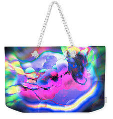Weekender Tote Bag featuring the photograph My Imagination Is In Color by Kellice Swaggerty
