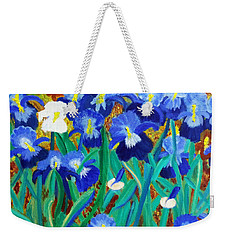 My Iris - Inspired  By Vangogh Weekender Tote Bag