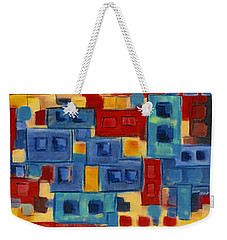 Weekender Tote Bag featuring the painting My Jazz N Blues 2 by Holly Carmichael