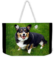My Little Buddy Weekender Tote Bag by Patricia Strand