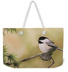 My Little Chickadee Weekender Tote Bag