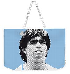 My Maradona Soccer Legend Poster Weekender Tote Bag