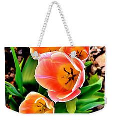 My Mom's Tulips Weekender Tote Bag
