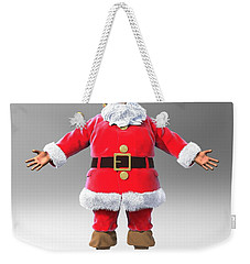 My Name Is Santa Weekender Tote Bag