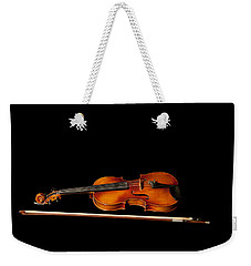 My Old Fiddle And Bow Weekender Tote Bag
