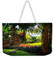 My Pal Iggy Weekender Tote Bag by Robert McCubbin