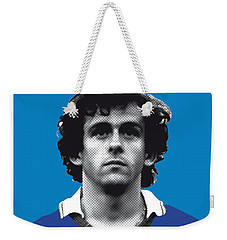 My Platini Soccer Legend Poster Weekender Tote Bag by Chungkong Art