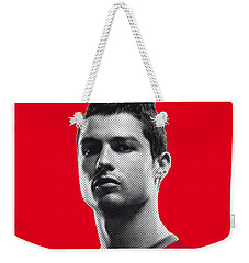 My Ronaldo Soccer Legend Poster Weekender Tote Bag by Chungkong Art